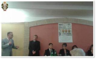 Intervento del Presidente della Sezione Provinciale UNMS di Viterbo