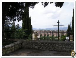 Scorcio panoramico di Rieti dal convento dei Sant'Antonio al Monte