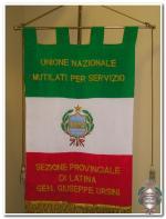 Labaro della Sez. prov.le di Latina