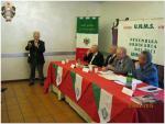 Intervento del PResidente della sezione provinciale UNMS di Roma. Franchitto Benedetto